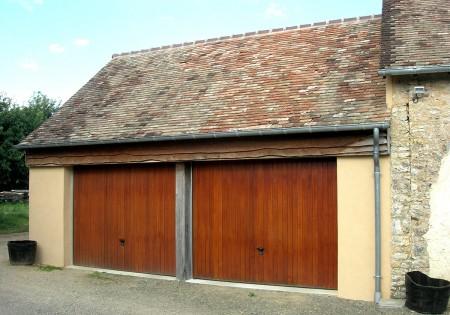 Portail et porte de garage sur mesure menuisier sur le for Porte de garage automatique sur mesure