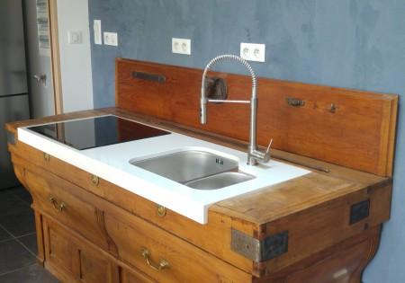 Meuble cuisine, salle de bain sur-mesure - Menuisier Le Mans (72)